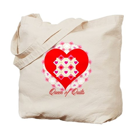 Queen of Quilts- Tote Bag