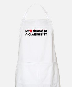 Belongs To A Clarinetist BBQ Apron