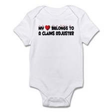 Belongs To A Claims Adjuster Infant Bodysuit