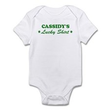 CASSIDY - lucky shirt Infant Bodysuit