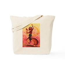 """Firedancer"" Tote Bag"