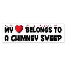 Belongs To A Chimney Sweep Bumper Bumper Sticker