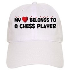 Belongs To A Chess Player Baseball Baseball Cap