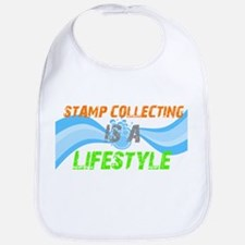 Stamp collecting is a lifesty Bib