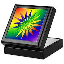 Rainbow Snowflake 41 Keepsake Box