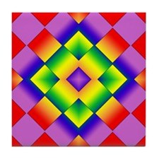 GLBT Grid Tile Coaster