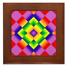 GLBT Grid Framed Tile
