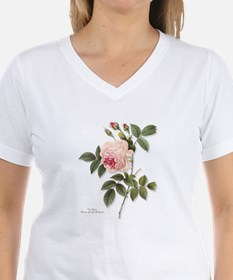 Tea Rose Women's Pink T-Shirt