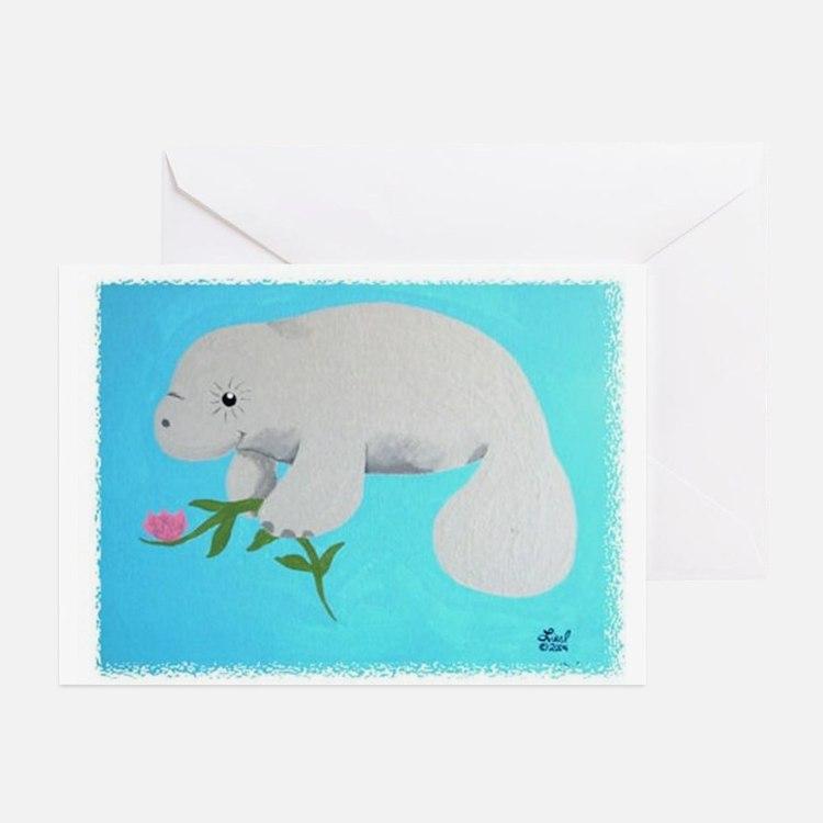 Manatee Greeting Cards (Pk of 10)