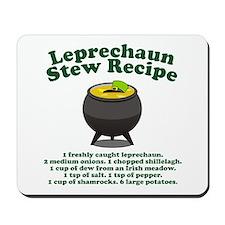 Leprechaun Stew Recipe Mousepad