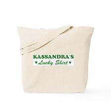 KASSANDRA - lucky shirt Tote Bag