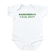 KASSANDRA - lucky shirt Onesie
