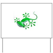 Gecko Yard Sign