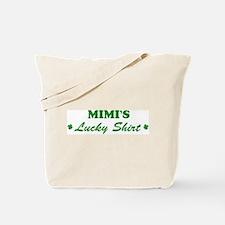 MIMI - lucky shirt Tote Bag