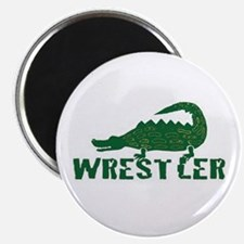 "Alligator Wrestler 2.25"" Magnet (100 pack)"