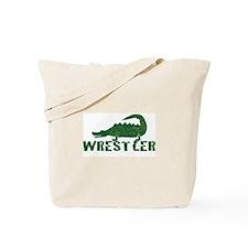 Alligator Wrestler Tote Bag