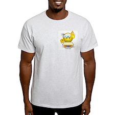 Karate Ash Grey T-Shirt