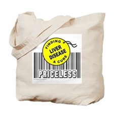 LIVER DISEASE FINDING A CURE Tote Bag