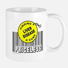 LIVER DISEASE FINDING A CURE Small Small Mug