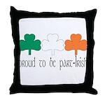 Proud To Be Part Irish Throw Pillow