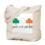 Proud To Be Part Irish Tote Bag