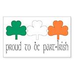 Proud To Be Part Irish Rectangle Sticker