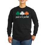 Proud To Be Part Irish Long Sleeve Dark T-Shirt