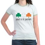 Proud To Be Part Irish Jr. Ringer T-Shirt