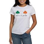 Proud To Be Part Irish Women's T-Shirt