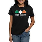 Proud To Be Part Irish Women's Dark T-Shirt