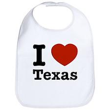 I love Texas Bib