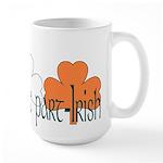 Proud To Be Part Irish Large Mug