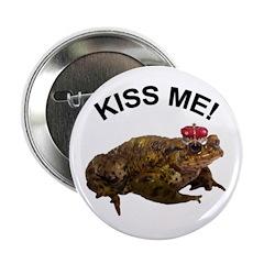 Frog Prince Button