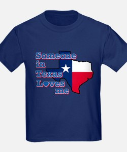 Someone in Texas loves me T