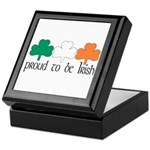 Proud To Be Irish Keepsake Box