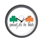 Proud To Be Irish Wall Clock