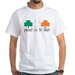 Proud To Be Irish White T-Shirt