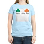Proud To Be Irish Women's Light T-Shirt