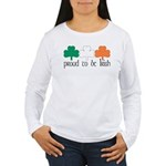 Proud To Be Irish Women's Long Sleeve T-Shirt