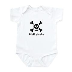 8-Bit Pirate Infant Bodysuit