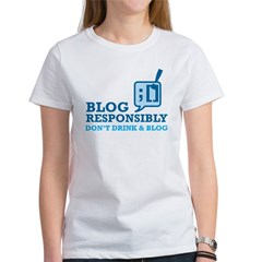 Blog Responsibly Tee