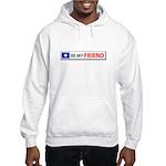 Be My Friend Hooded Sweatshirt
