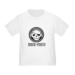 Music Pirate Toddler T-Shirt
