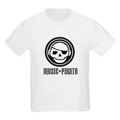 Music Pirate Kids T-Shirt