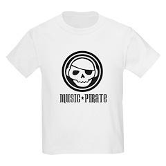 Music Pirate Kids T-Shirt