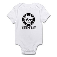 Music Pirate Infant Creeper
