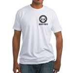 Music Pirate Fitted T-Shirt