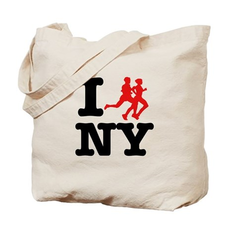I run New York Tote Bag