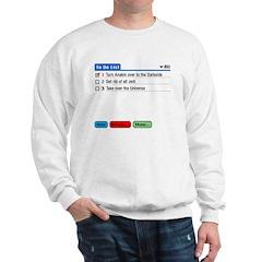 Emperor's To-Do List Sweatshirt