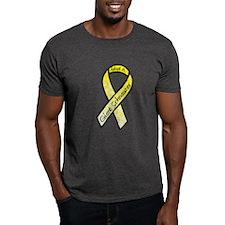 Schnauzer Ribbon C T-Shirt